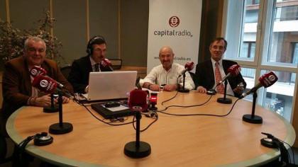 Presentación en Capital Radio