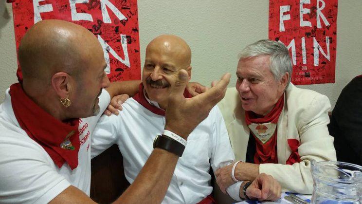Julen Madina, Miguel Angel Eguiluz y Joe Distler