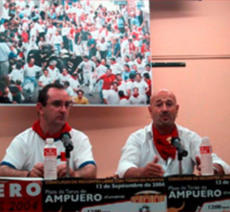 Carlos Ocejo y Julen Madina