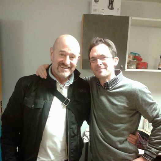 Julen con Benoit Etcheverry
